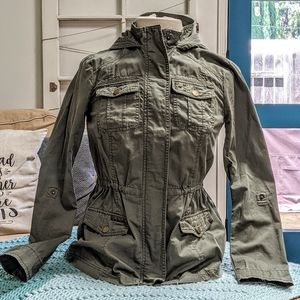 Ashley Olive Green Army Jacket